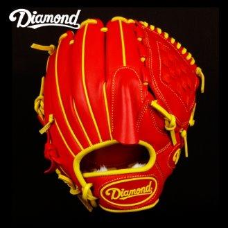 다이아몬드 프로스탠다드 투수 글러브 PS-201 (레드)