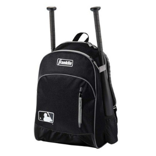 프랭클린 Franklin MLB 배트백팩(23396C1)-BLACK/GRAY